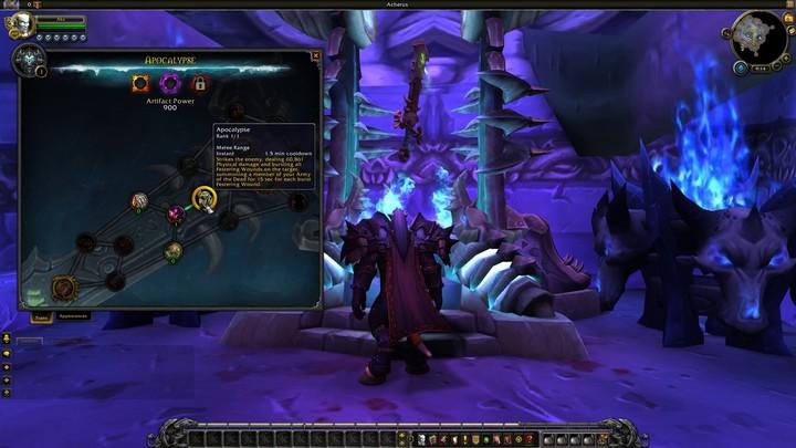 Présentation du système d'amélioration des Armes Prodigieuses de World of Warcraft Legion (VOSTFR)