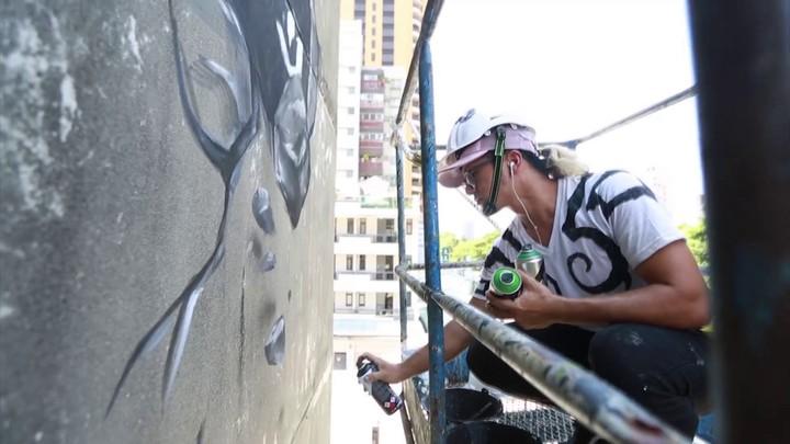 De la réalisation de la fresque murale d'Illidan
