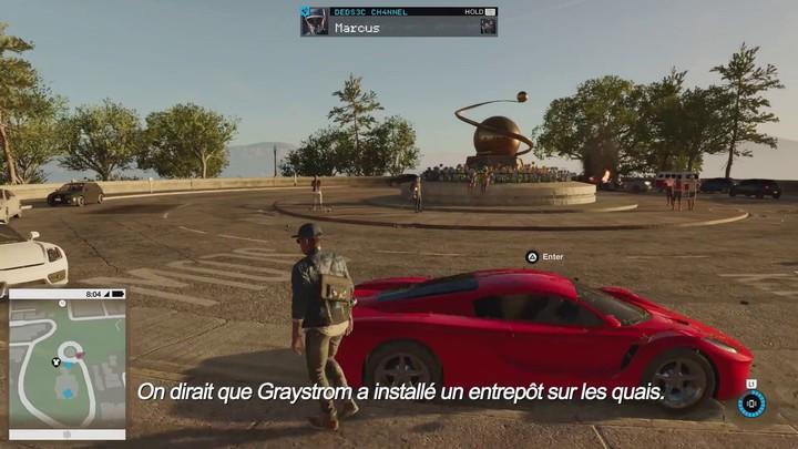 Présentation commentée du gameplay de Watch Dog 2 (VF)
