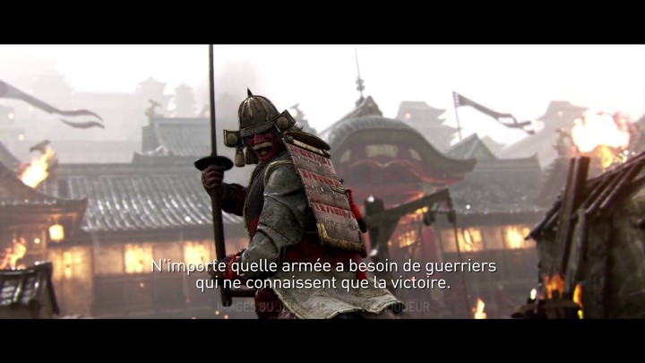 Samouraï de For Honor : présentation de Kensei, l'incarnation du Bushido