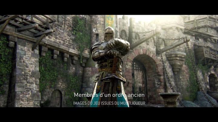 Chevalier de For Honor : présentation de la Sentinelle, le protecteur