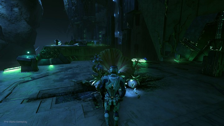 Aperçu de Mass Effect Andromeda New sur PlayStation 4 Pro