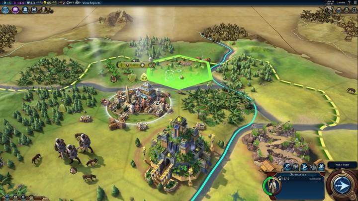 Civilization VI : présentation de l'Arabie