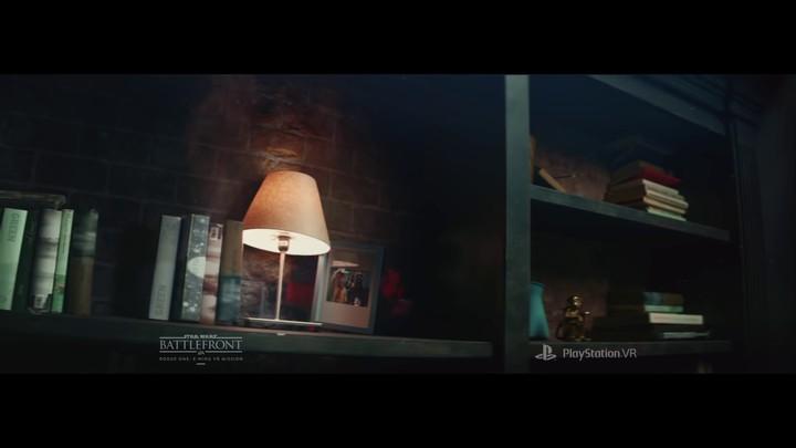 Publicité pour la mission de réalité virtuelle Star Wars Battlefront sur Playstation VR