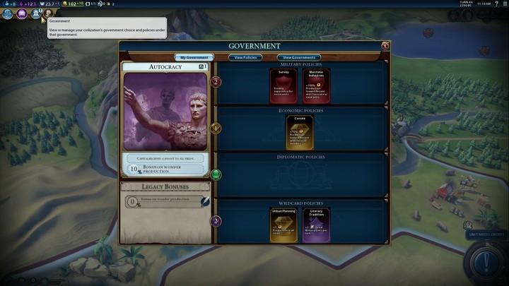 Civilization VI : le choix du dirigeant confirmé