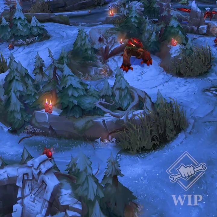 L'hiver approche sur League of Legends