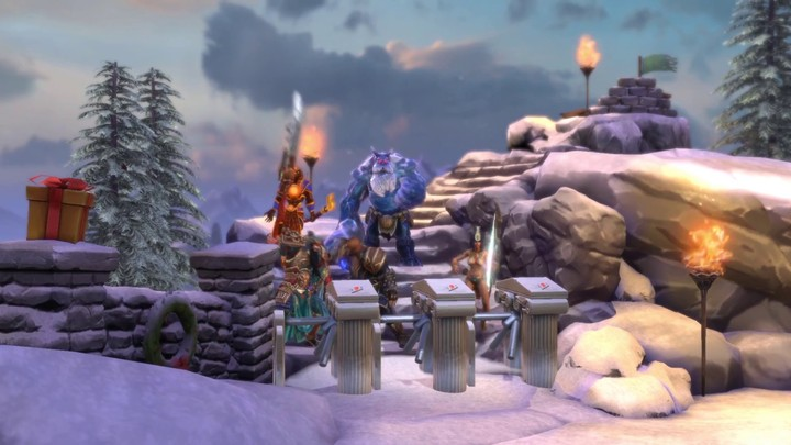 "Bande-annonce du ""Winter Wonderland"" (animation PvE) de SMITE"