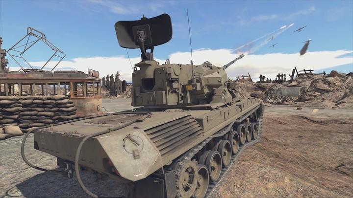 Démonstration de la technologie Ansel dans War Thunder