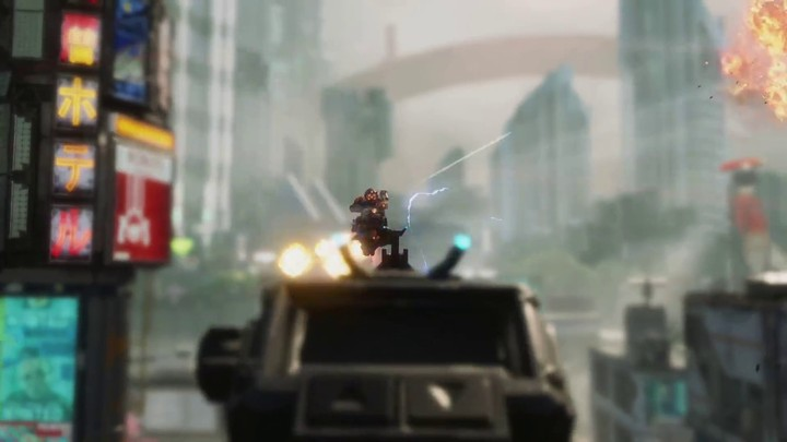 Bande annonce pour la carte Angel City dans Titanfall 2