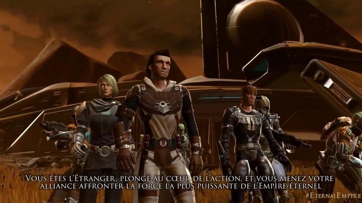 Présentation du Commandement Galactique de SWTOR: Knights of the Eternal Throne