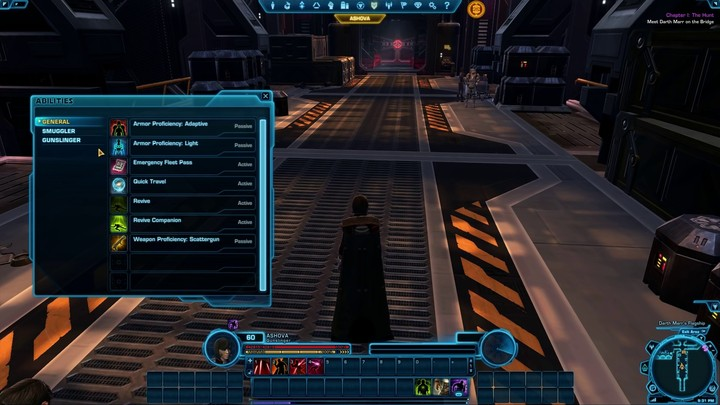 Star Wars The Old Republic - Guide Contrôles et Interface