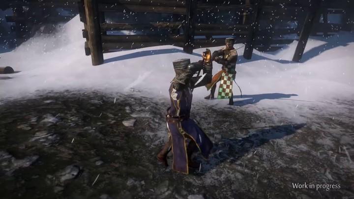 Refonte graphique : aperçu des assauts à l'épée longue de Gloria Victis