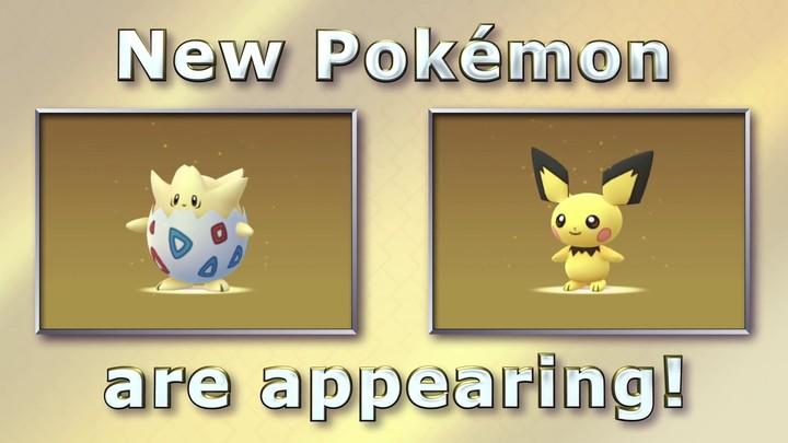 Vidéo d'annonce de nouveaux Pokémon dans Pokémon Go