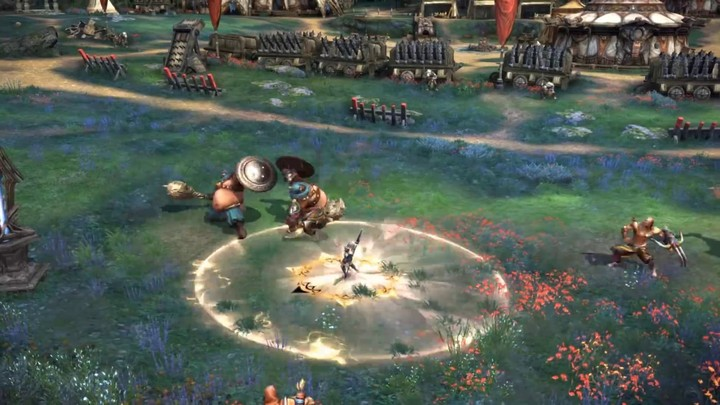 Aperçu du gameplay de la Guerrière de la Lune de Tera
