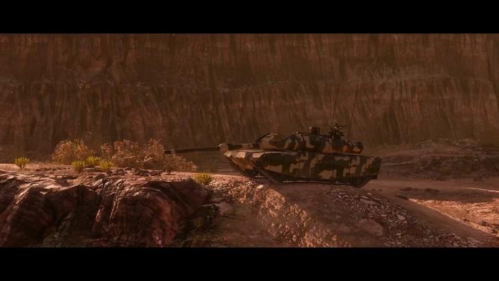 Aperçu de la carte « Usine Chimique » d'Armored Warfare
