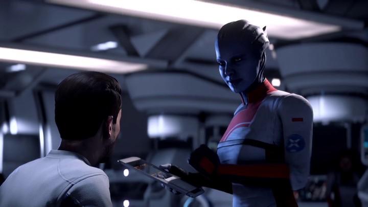 Coulisses de Mass Effect Andromeda : Natalie Dormer prête sa voix au Dr Lexi T'Perro
