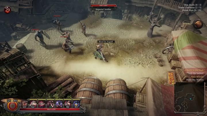 Teaser de lancement de Vikings - Wolves of Midgard