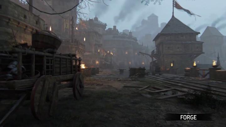 """Aperçu de la carte """"Forge"""" de For Honor: Shadow & Might"""