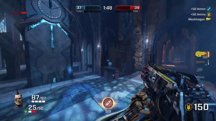 Aperçu du gameplay brut de Quake Champions