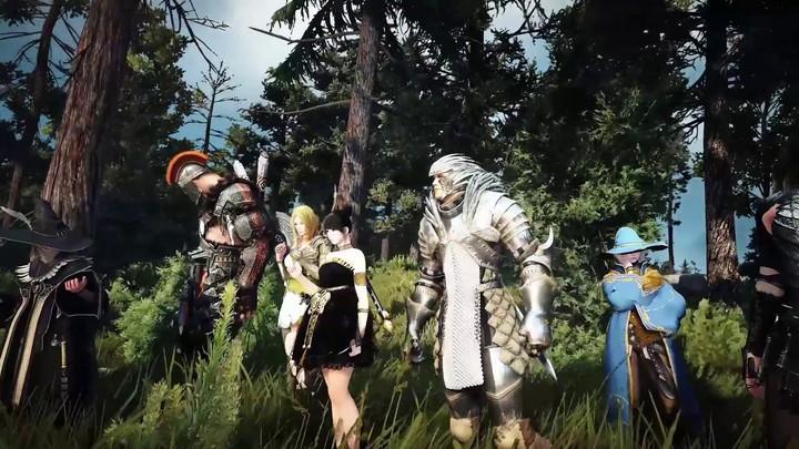 Bande-annonce de lancement de Black Desert sur Steam