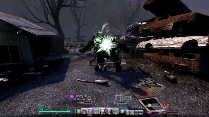 Les combats dans Secret World Legends
