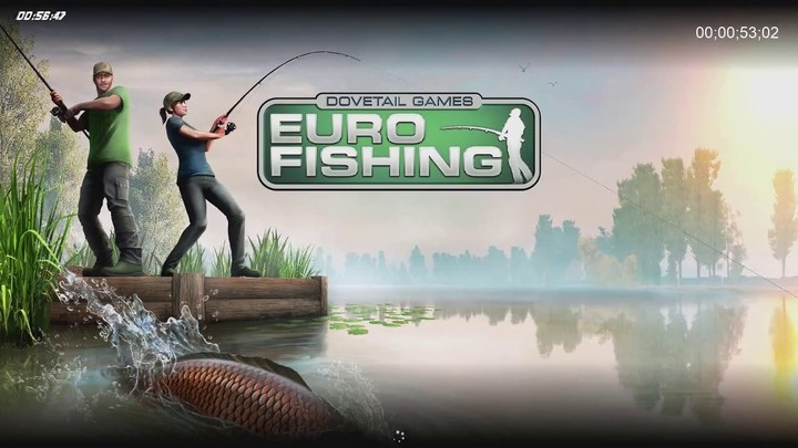 60 minutes chrono - #8 - Dovetail Games Euro Fishing (Xbox One/PlayStation 4/PC)