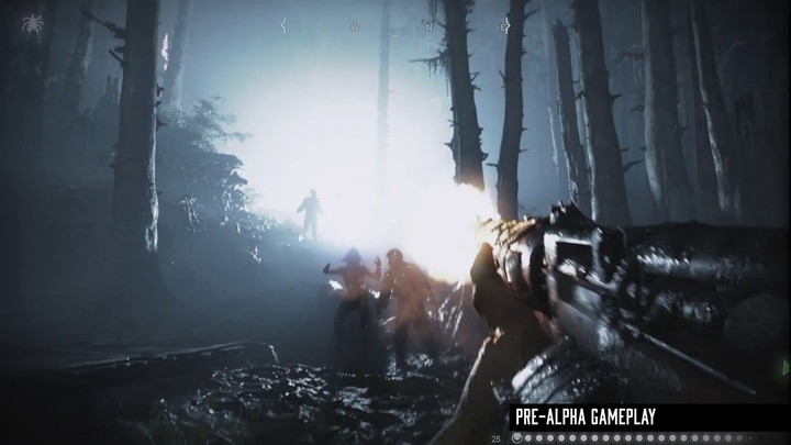 Aperçu du gameplay brut de Hunt: Showdown
