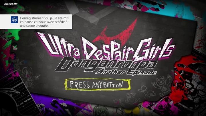 60 minutes chrono - #11 - Danganronpa Another Episode: Ultra Despair Girls (PlayStation 4/PlayStation Vita/PC)
