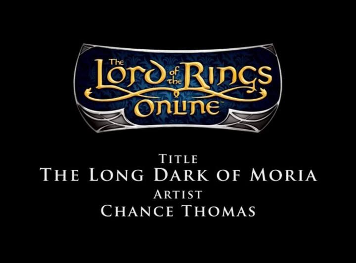 Bande Originale du SdaO - Chance Thomas - The Long Dark of Moria