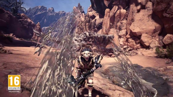 Exploration du Désert des Termites de Monster Hunter World