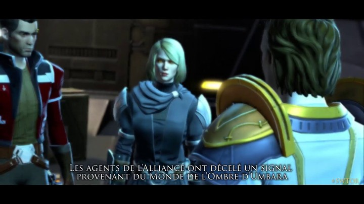 "Star Wars The Old Republic - Bande annonce de lancement ""Umbara en Crise"""
