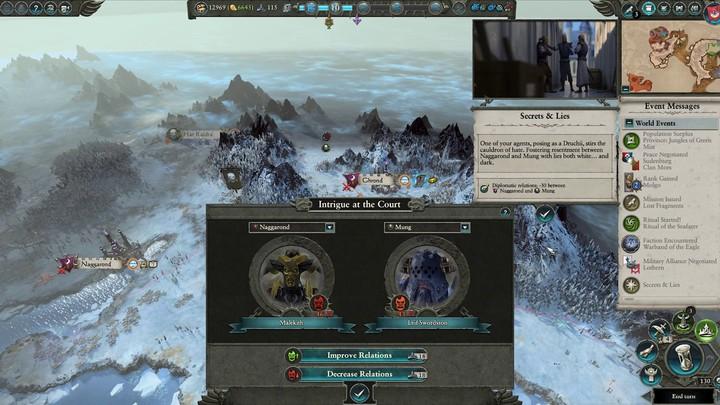 "Let's play : ""Influence"" et ""Intrigues de cour"" des Hauts-elfes de Total War Warhammer II"