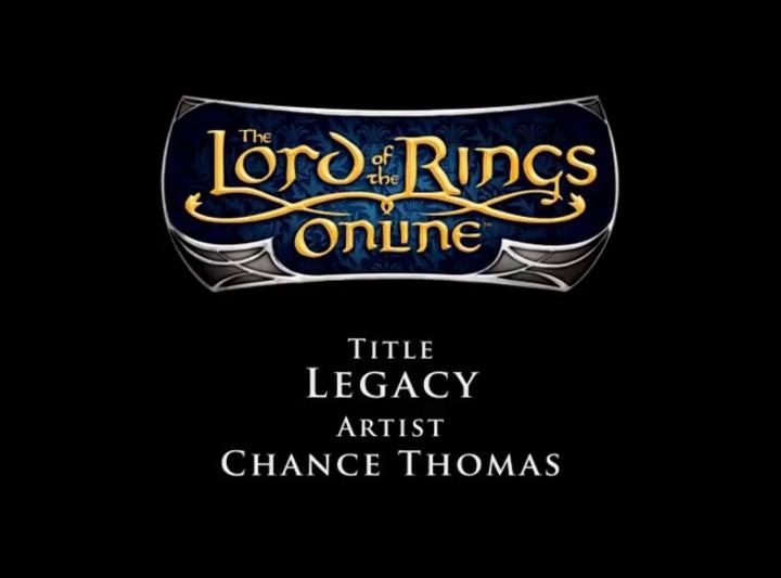 Bande Originale du SdaO - Chance Thomas - Legacy