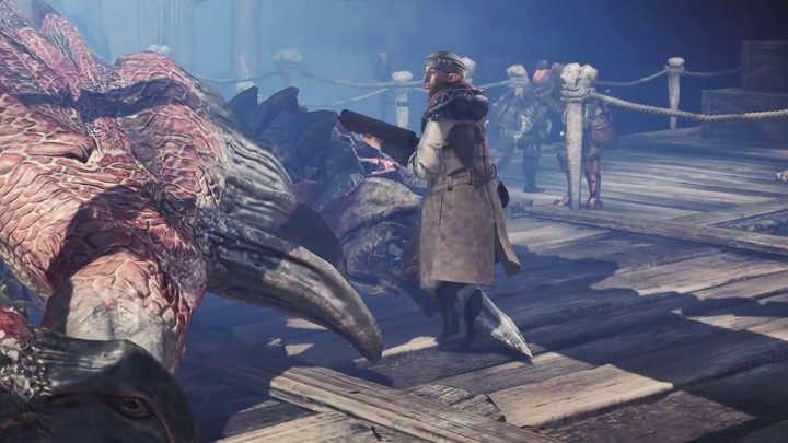 TGS 2017 - Bande-annonce cinématique de Monster Hunter World