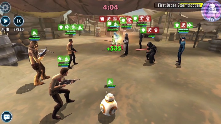 Star Wars Galaxy of Heroes - Bande annonce du droïd BB8