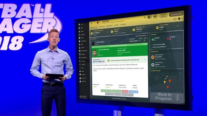Présentation d'une nouveauté dans Football Manager 2018 : Le Scouting