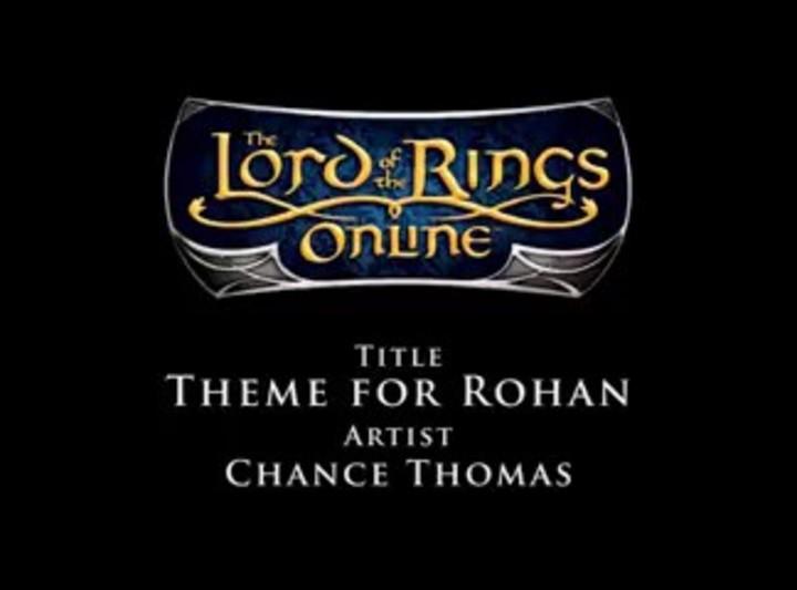 Bande Originale du SdaO - Chance Thomas - Theme for Rohan