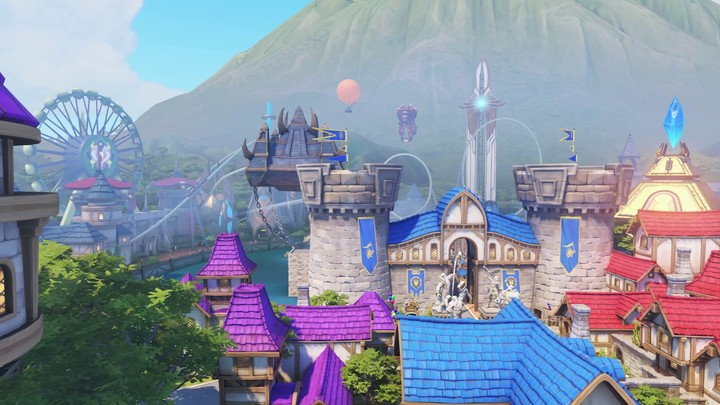 "BlizzCon 2017 - Aperçu de nouvelle carte ""Blizzard World"" d'Overwatch"