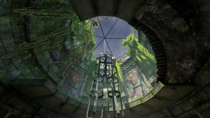 Aperçu des Ruines de Sarnath de Quake Champions