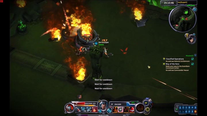 Serious Sam s'annonce dans Wild Buster: Heroes of Titan