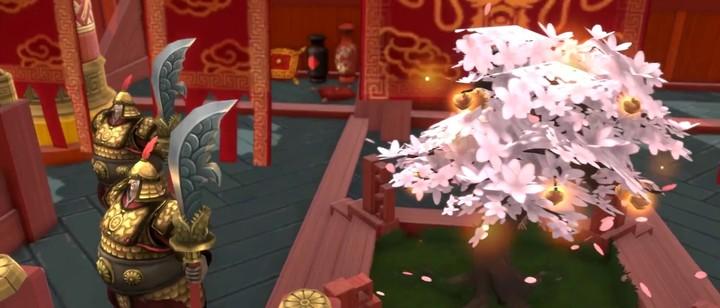 Aperçu de la nouvelle carte « Dragon Garden » de Battlerite
