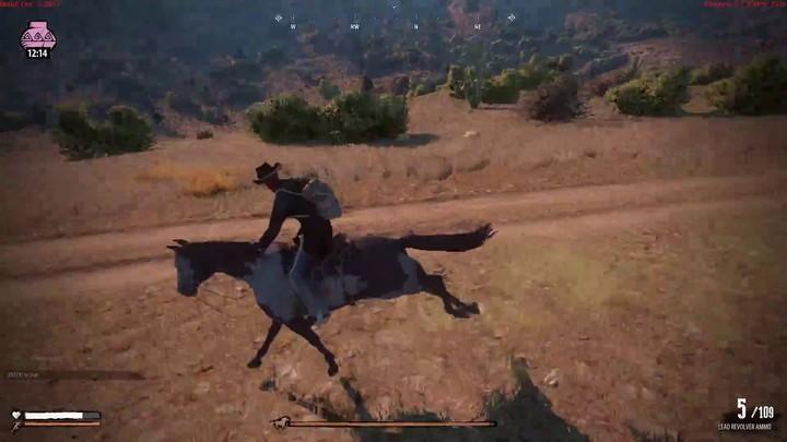 Premier aperçu des combats à cheval de Wild West Online