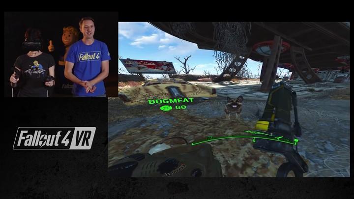 Lancement : premiers pas dans Fallout 4 VR sur HTC Vive