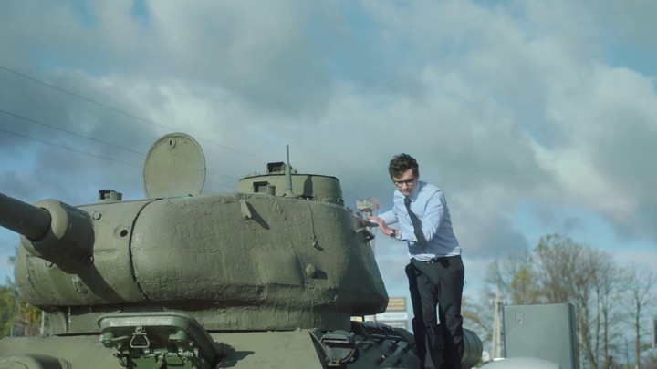 Publicité pour World of Tanks