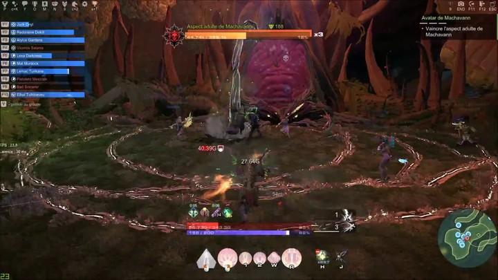 Visite du Champion Avatar Machavann de Skyforge