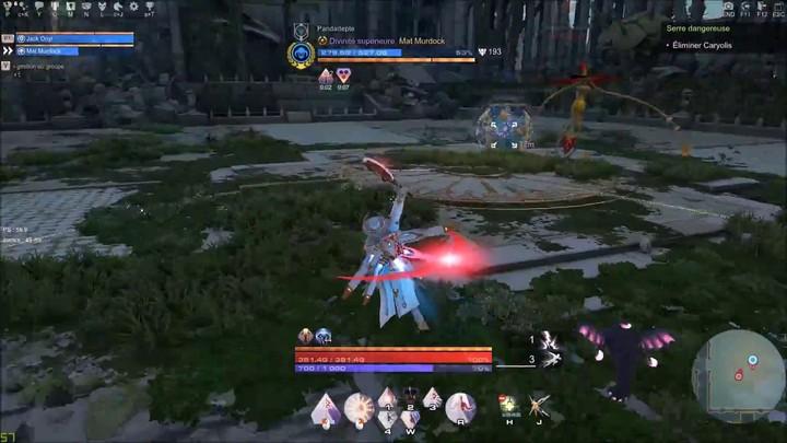 Exploration de la Distorsion B1 Caryolis à deux joueurs de Skyforge