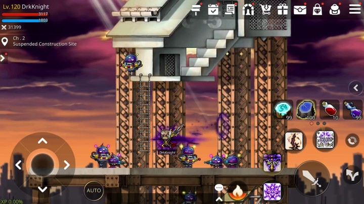 Aperçu du gameplay de MapleStory M