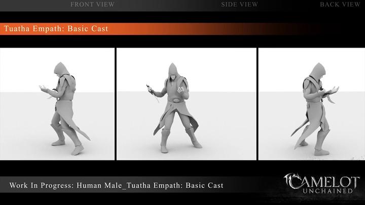 Work-In-Progress Tuatha Empath - Basic Cast