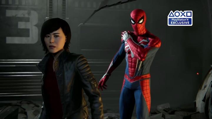 E3 2018 - Spiderman en mode démo