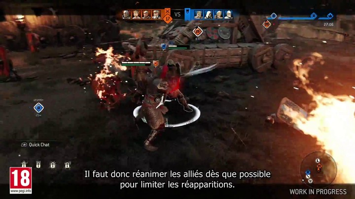 """E3 2018 - Démo du prochain mode """"Brèche"""" de For Honor (VOSTFR)"""